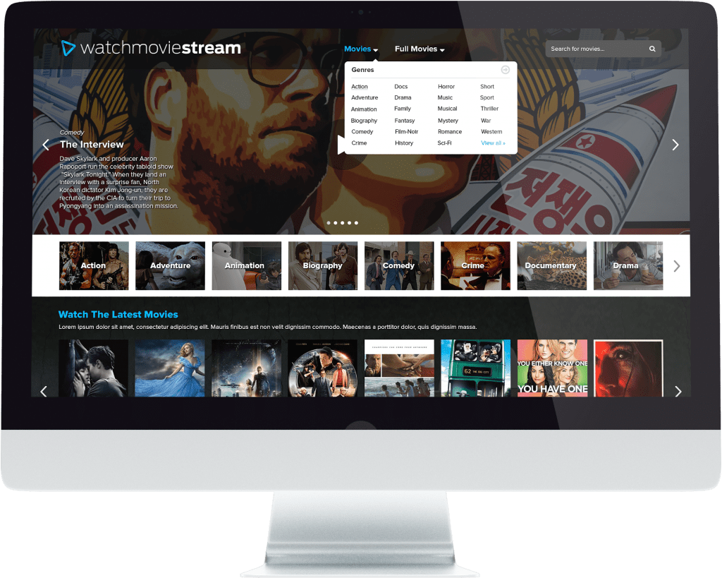 Watch Movie Stream - iMac