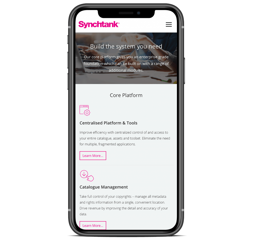 Synchtank - iPhone