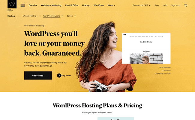 GoDaddy - WordPress Hosting