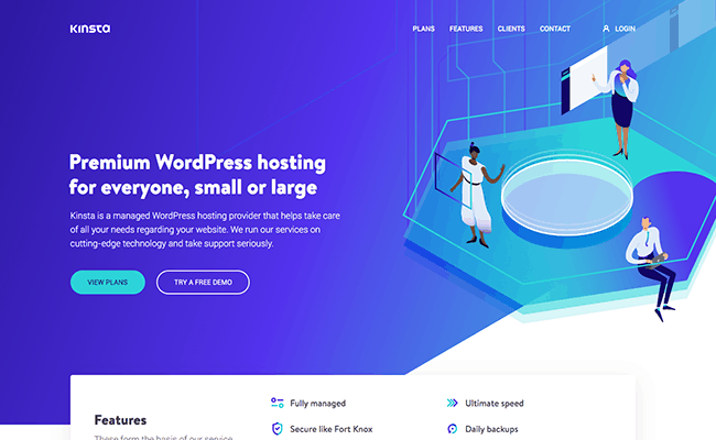 Kinsta - WordPress Hosting